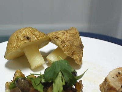Setas de patata