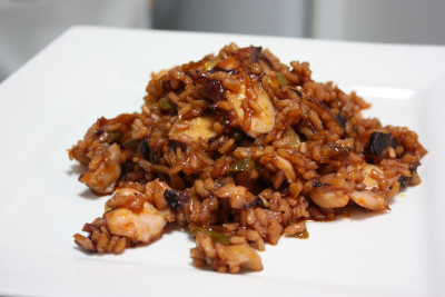 Arroz de pulpo