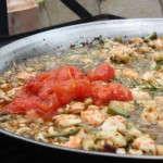 El tomate triturado