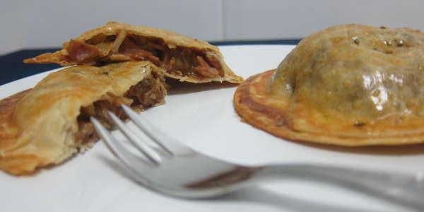 Empanadillas de setas (para comer)