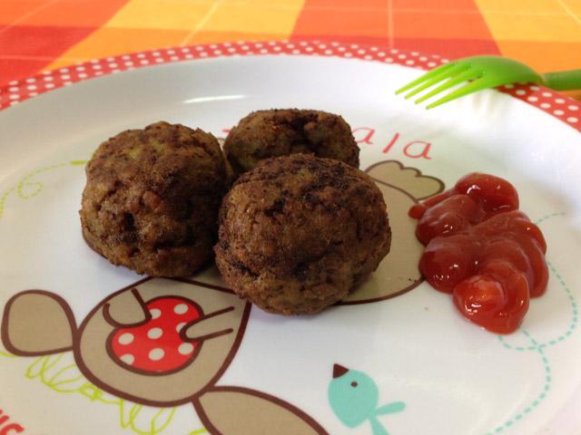 Albóndigas de carne y verduras