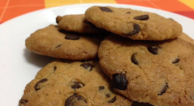 Cookies de chocolate (hechas con niños)